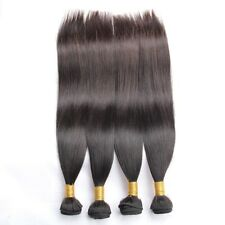 100% Human Indian Hair extension Straight 3 Bundles 18 Inch.
