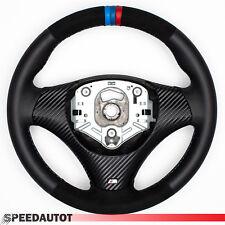 Ricambio Alcantara Volante in pelle BMW M-POWER E90 E91 E82 E84 E87 con Carbonio