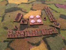 Painted 6mm Baccus. British Colonial Army