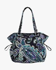 Vera Bradley Womens Glenna Satchel Handbag Multicolor Paisley Dual Handle