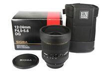 SIGMA EX 12-24mm 4,4-5.6 DG - NIKON  AF D - OVP  * Fotofachhändler *