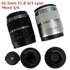 Xiaoyi YI M1 42.5mm F/1.8 Micro SLR Lens for Panasonic GF6 G6 G7 GF7 GF8 GF9 G85