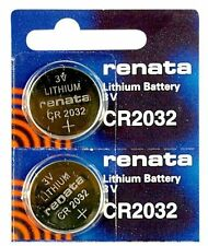 Renata 3V CR2032 Lithium Battery - 2pc Pack