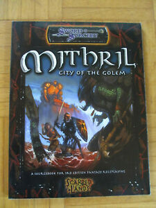 Mithril City of the Golem - D20 Scarred Lands Sword Sorcery - Dungeons & Dragons