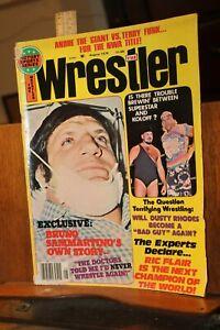 Vintage Wrestling Magazine The Wrestler August 1976