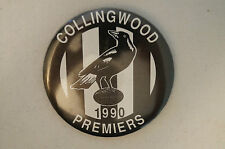Collingwood - Vintage - Collectable - 1990 Premiers - Badge - Button - Pin