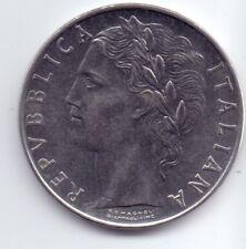 1 COIN ITALY ITALIANA 100 LIRE L 1956