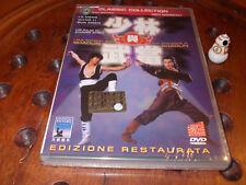 I due campioni dello Shaolin  (edizione restaurata)  Dvd ..... Nuovo