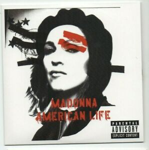 MADONNA : AMERICAN LIFE ♦ Limited Edition Album ♦  DIE ANOTHER DAY (motion pic.)