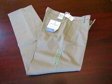mens dockers best pressed khaki pants 34x34 nwt $62 timber beige