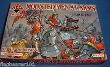 Redbox 72045 montado hombres de armas. guerra De Los Roses. escala 1/72 figuras de plástico