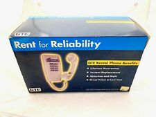GTE Rental Wall Telephone Phone NOS Never Used