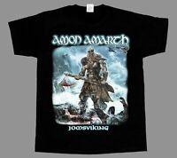 AMON AMARTH JOMSVIKING DEATH METAL CHILDREN OF BODOM AMORPHIS NEW BLACK T-SHIRT
