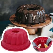Silicone Round Cake box shape cake pan baking pan bread cookie mold Mould HX