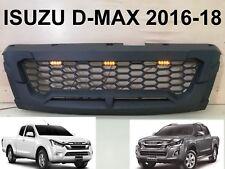ISUZU D-Max 1.9 LED TFR MATTE Black Front Grille Grill PART Blue Power 2016-2019