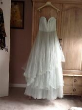 H&M CONSCIOUS MINT  TULLE FAIRYTALE WEDDING DRESS RARE BLOGGERS
