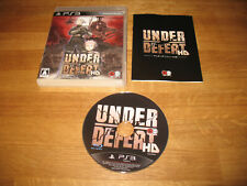 PS3 game - Under Defeat HD (complete NTSC Japan)