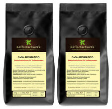 CAFFÉ AROMATICO Exklusive Arabica Crema Kaffee Bohnen für Vollautomaten 2x500g