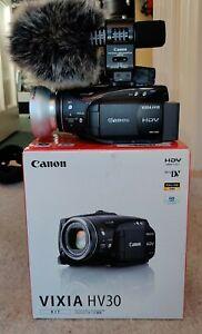 Canon Vixia HV30 Vlog 30fps Progressive!!