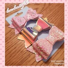 Small hair bows clips