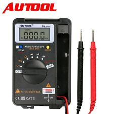 Autool DM Mini Pocket Auto Rang Digital Multimeter Tester 4000 Counts Analyzers