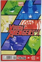YOUNG AVENGERS #1 1ST PRINT DISNEY+ TV SHOW 1ST APP TEAM-UP YOUNG AVENGERS
