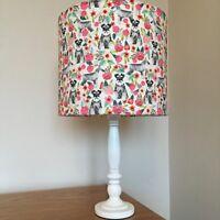 Miniature Schnauzer Dog Print Fabric Lamp