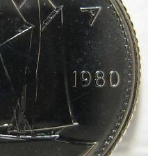 "RCM - 1980 - 10-cents - Specimen - Uncirculated - Narrow "" 0 """