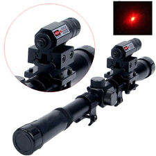 Tactical Red Laser Beam Dot Sight Scope for Rifle Pistol Picatinny Mount
