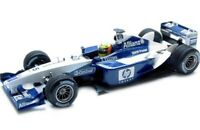 MINICHAMPS various WILLIAMS Ralf Schumacher F1 model cars 2001 - 2003 1:43rd