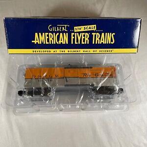 NIB American Flyer # 6-49038 Rio Grande Walking Breakeman Car S Gauge Rail Car