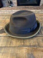KNOX Superfine Vintage New York raymond stahler philadelphia hat Size 7 1/4