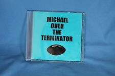 The Blind Side Michael Oher Recruitment CD The Terminator Sticker Movie Props