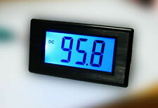 DC Blue 0-199.9mA 200mA Digital Panel Amp Current Meter Ammeter Milliammeter LCD