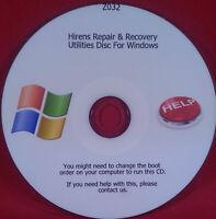 Hiren's Windows XP, VISTA, 7, 8 and 10 Utilities For Recovery & Repair Fix Bo...