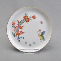 Meissen Chinesischer Drache und Storch, Wandteller, 17,5 cm, 1.Wahl, TOP