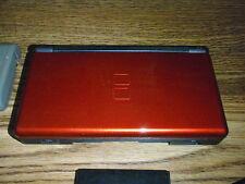 Nintendo DS Lite Crimson Red and Black Handheld System