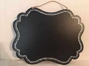 New chalkboard (blackboard or message board) for parties and wedding venue decor