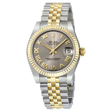 Rolex Datejust Lady 31 Grey Dial Stainless Steel and 18K Yellow Gold Jubilee