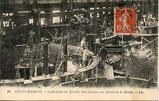 CARTE POSTALE / LA LOIRE / SAINT CHAMOND ACIERIES DE LA MARINE
