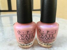 2 x OPI ROSY FUTURE (NL S79) 100% Authentic!