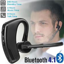 Bluetooth Headset Handsfree Wireless Earpiece Noise Reduction Microphone Earbud