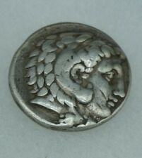 Tetradrachm Ancient Greek Coin Alexander The Great Lifetime Issue Silver
