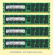 Server RAM 32G 4x 8GB PC3L-10600R ECC REG DDR3L 1333MHz 1.35v Low Voltage Memory