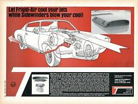 1970 Trend Setter Products Frigid-Air Scoop & Sidewinders Exhaust Print Ad