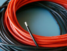 One Pair of 16 AWG / 16 Gauge Silicone Wires Silicon Cables (1m Red + 1m Black)