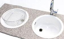 Rieber 1 Becken Spülen aus Edelstahl für Bad & Küche | eBay | {Spülbecken rund edelstahl matt 92}