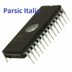 M27C64A-20F6 M27C64A  64Kbit (8Kb X8) UV EPROM OTP EPROM, DIP28W ( x 2 PEZZI)