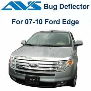 AVS 622016 - Fits 2007-2010 Ford Edge Aeroskin Chrome Hood Protector Bug Shield