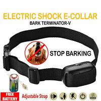 1x Bark Stop Ultrasonic Anti Barking Control Pet Brand New Dog Training Collar